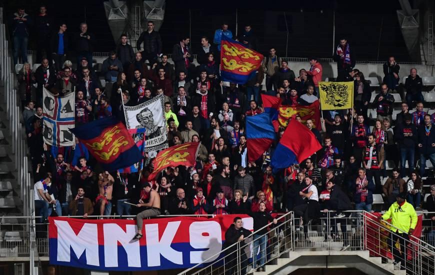 Plus de 300 supporters caennais sont attendus au stade Bollaert pour la rencontre face au RC Lens