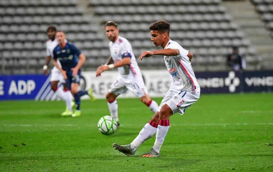 Nicholas Gioacchini est présent dans le groupe professionnel pour la troisième fois lors des quatre derniers matchs