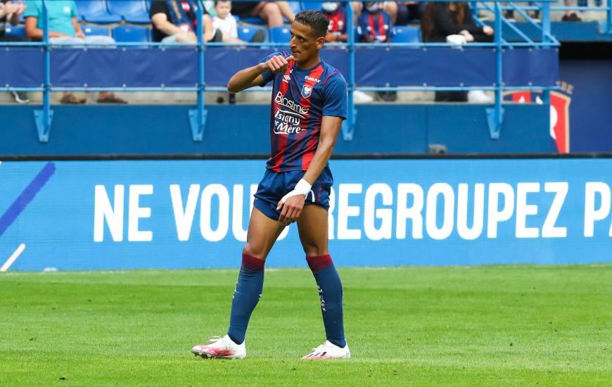 Yacine Bammou a égalisé en fin de rencontre hier après-midi face au Vannes Olympique Club