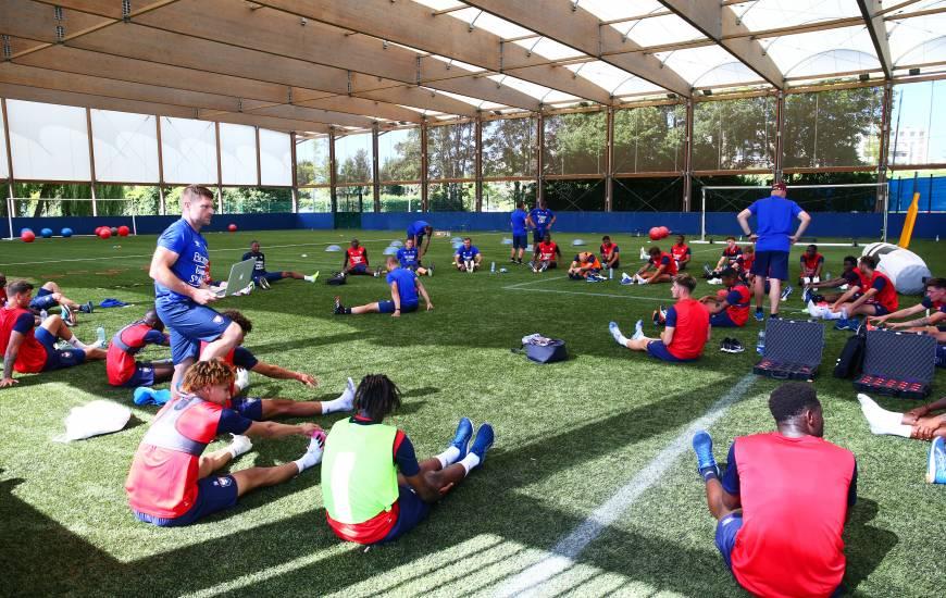 Le groupe professionnel du Stade Malherbe Caen retrouvera le chemin de l'entraînement ce lundi après-midi sur les terrains de Venoix