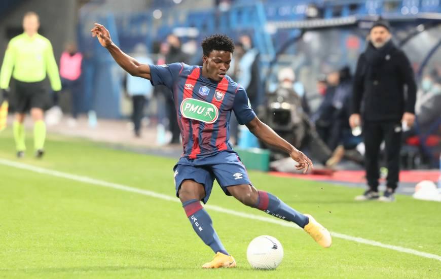 Aloys Fouda a joué 80 minutes hier soir face au Paris-Saint-Germain lors du 32e de finale de la Coupe de France