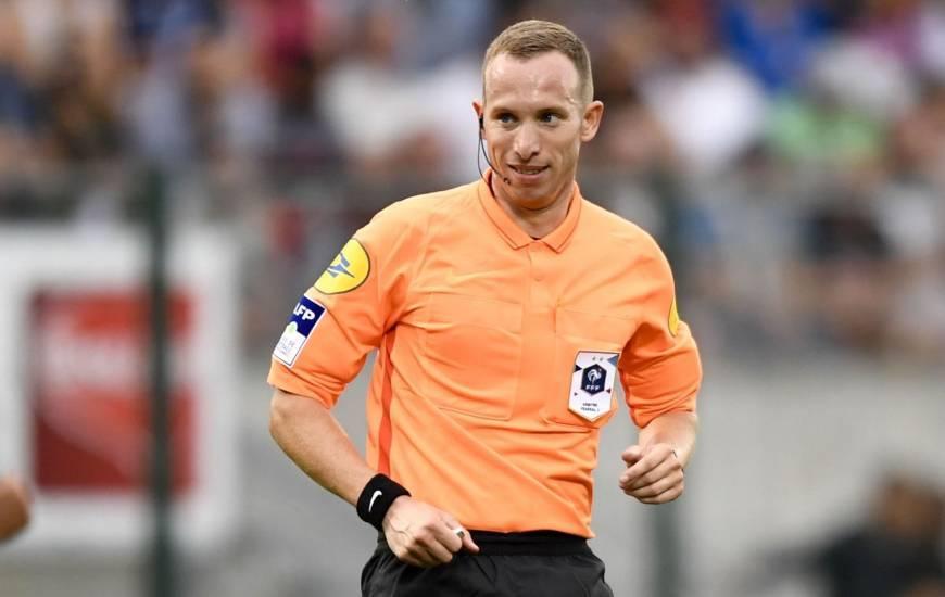 Le Stade Malherbe Caen n'a jamais perdu lorsque Rémi Landry était au sifflet en Ligue 2 BKT