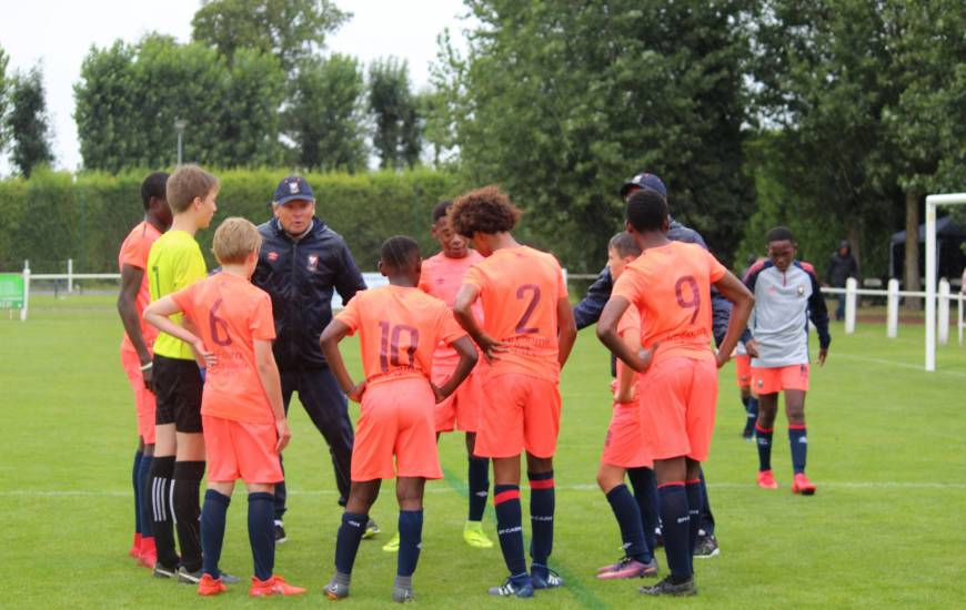 Olivier Joba aura encadré les U13 du Stade Malherbe Caen pendant quatre saisons