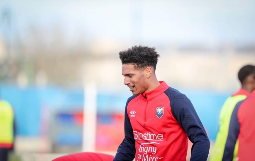 """""""19e"""" sur la feuille de match pour la rencontre face à l'USL Dunkerque samedi, Nicholas Gioacchini est du déplacement dans le Doubs"""