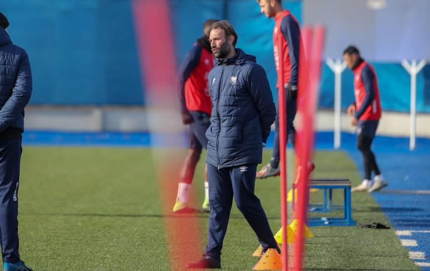 Cédric Hengbart et le staff du Stade Malherbe Caen préparent actuellement la répception de l'AJ Auxerre samedi soir