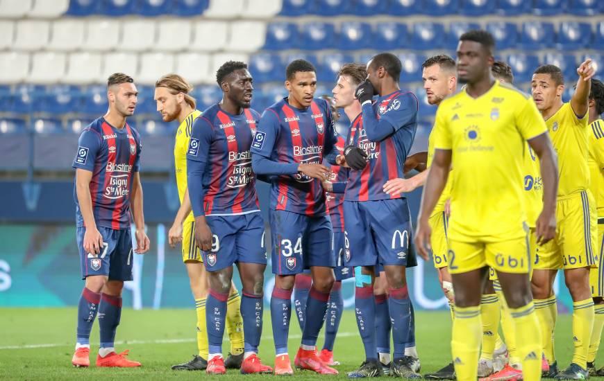 Les Caennais ont pu ouvrir le score sur un corner frappé par Yoann Court en première période face à Pau