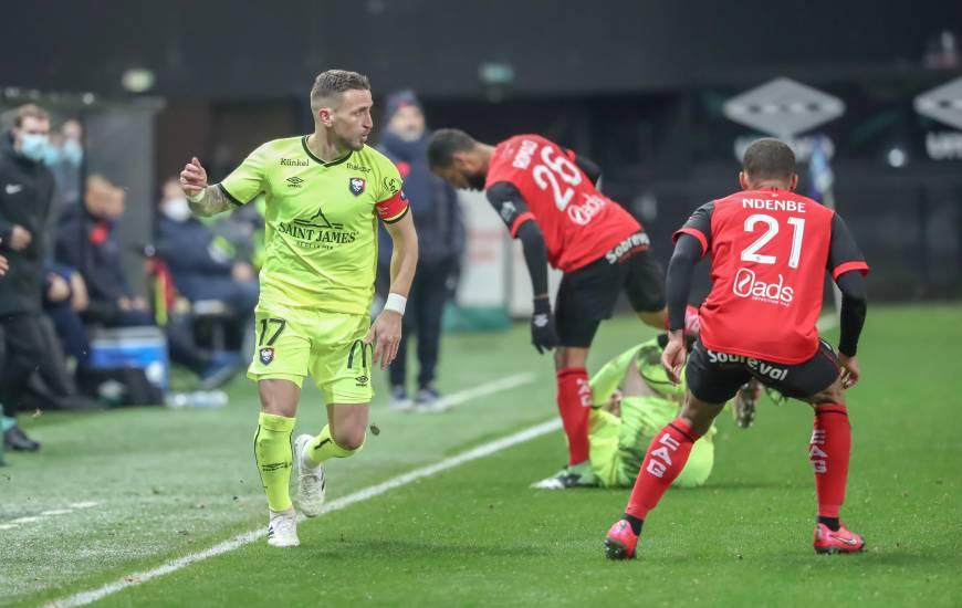 Capitaine hier soir face à l'EA Guingamp, Anthony Gonçalves s'est exprimé au micro de BeIn Sport après la rencontre