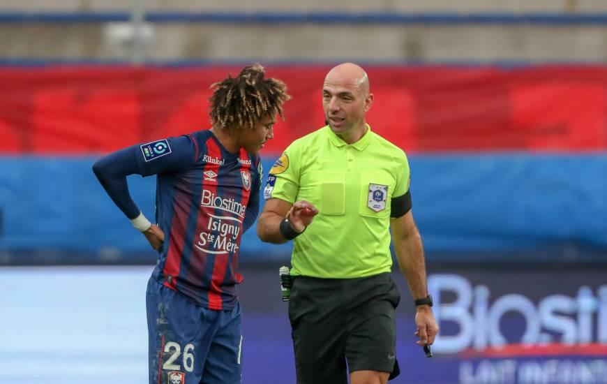 Bartolomeu Varela était au sifflet lors du match nul face à l'ESTAC (0-0) il y a plusieurs semaines