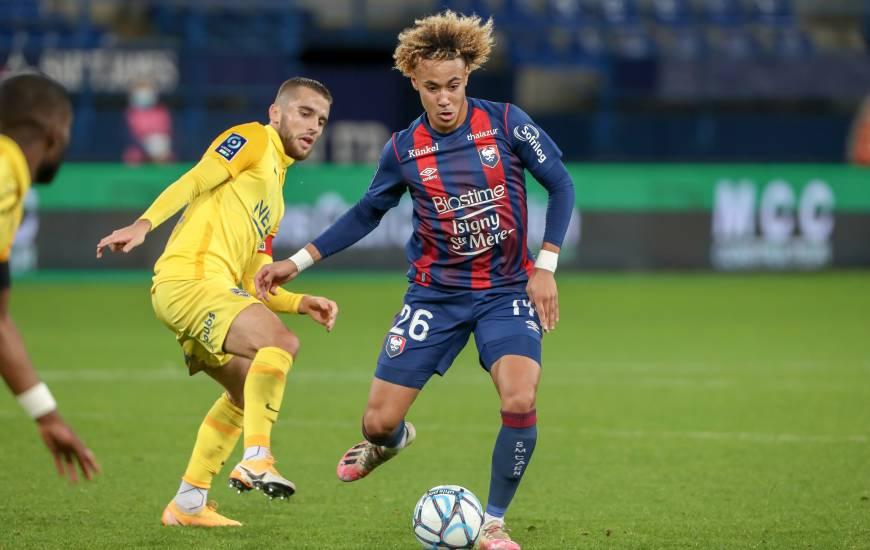Alexis Beka Beka a inscrit son premier but chez les professionnels lors de la réception du FC Sochaux