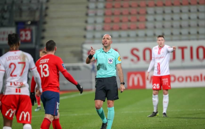 Bartolomeu Varela a arbitré les joueurs du Stade Malherbe Caen pour la dernière fois sur la pelouse de l'AS Nancy (1-0)