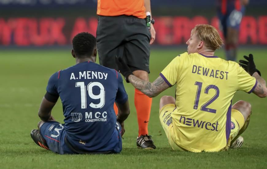 Le Stade Malherbe et le Toulouse FC n'ont pas réussi à se départager hier pour le dernier match de la phase aller