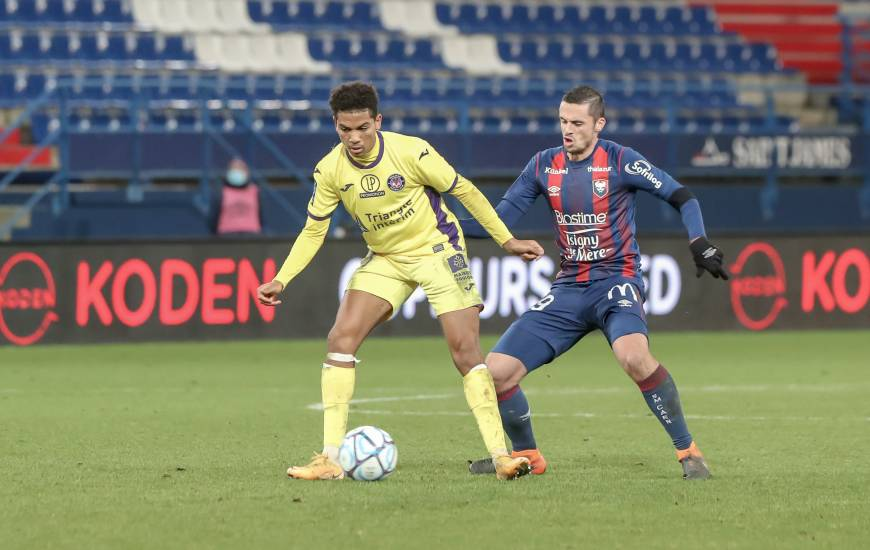 Le Stade Malherbe Caen avait concédé le match nul (2-2) lors de la réception du Toulouse FC en début d'année 2021