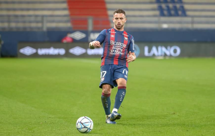 Anthony Gonçalves et les Caennais tenteront de mettre fin à 7 matchs sans victoire sur la pelouse de d'Ornano