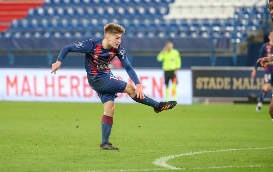 Johann Lepenant a débuté tous les matchs du mois de février en tant que tituaire (Ligue 2 BKT & Coupe de France)