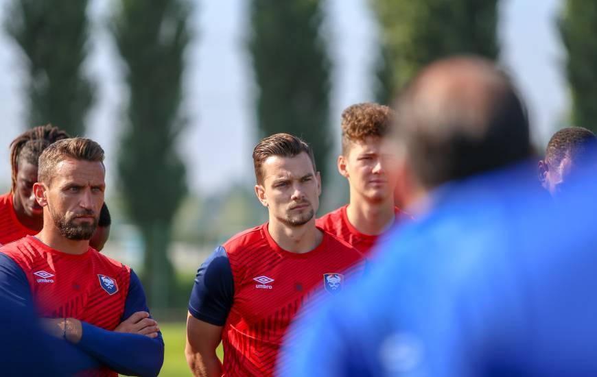 Benjamin Jeannot et les Caennais s'apprêtent à disputer trois matchs amicaux en l'espace de cinq jours