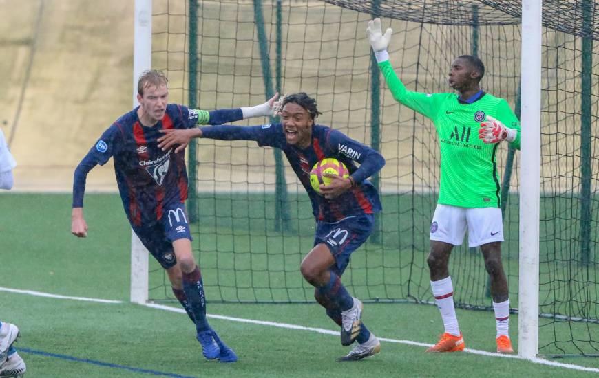 Brahim Traoré a redonné espoir aux Caennais en réduisant le score en fin de rencontre face au PSG (85')