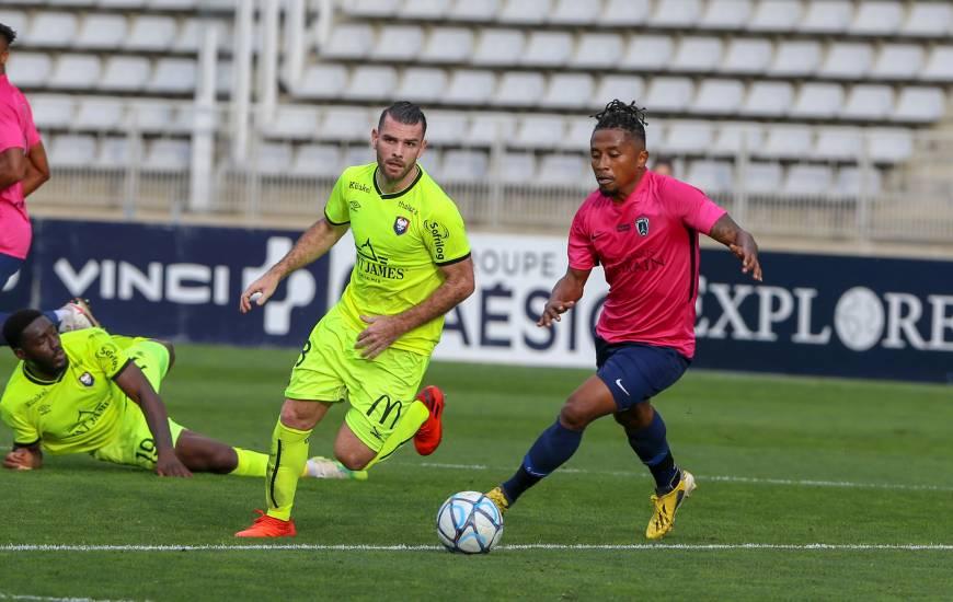 Le Stade Malherbe Caen de Yoann Court avait dû s'incliner sur la pelouse de Charléty face au Paris FC fin octobre (3-1)
