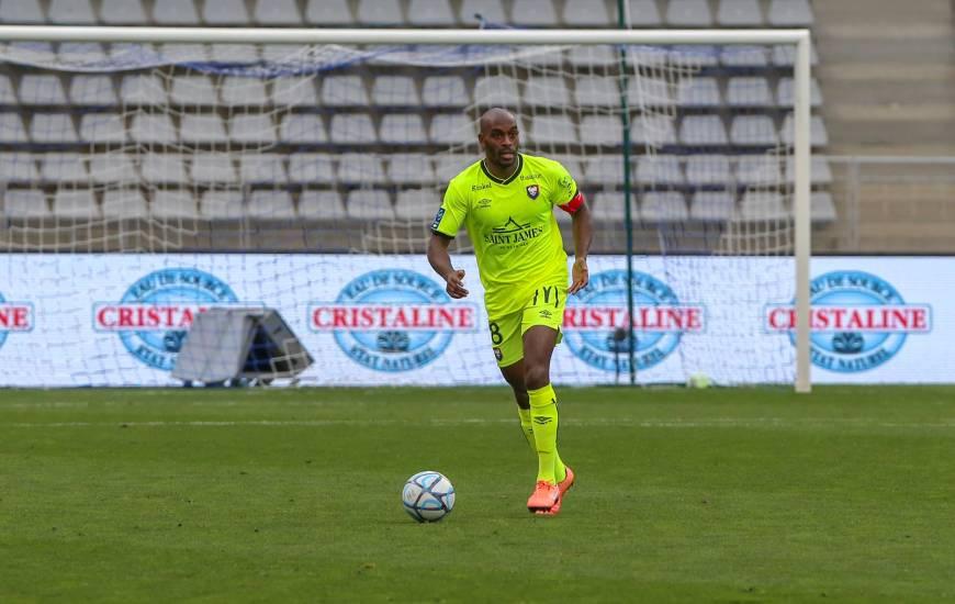 Jonathan Rivierez et les Caennais ont encaissé seulement trois buts dans le jeu en Ligue 2 BKT cette saison