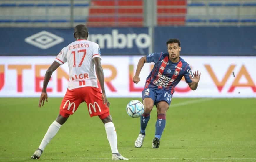 Yoël Armougom et les joueurs du Stade Malherbe Caen n'ont toujours pas perdu à d'Ornano