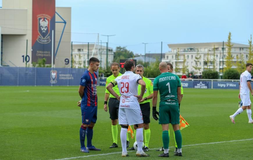 Le SM Caen et le FC Rouen n'ont pas réussi à se départager hier soir sur la pelouse de l'annexe 3