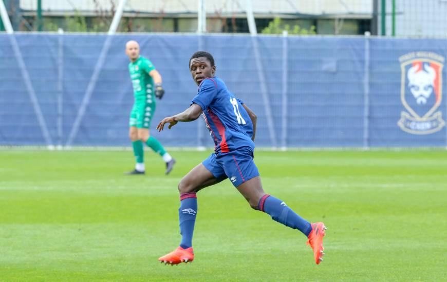 Zeidane Inoussa s'est dernièrement illustré avec le groupe Pro 2 lors du match nul face au FC Rouen