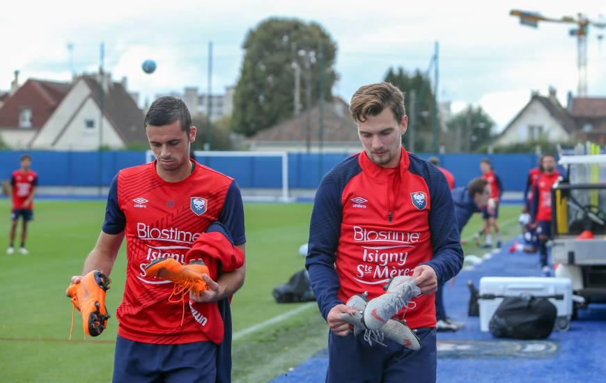 Benjamin Jeannot, Jessy Pi et les Caennais seront de retour à l'entraînement ce lundi après-midi