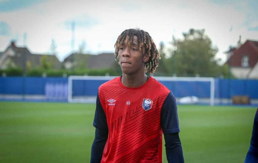Titulaire samedi soir, Brahim Traoré devrait reprendre l'entraînement avec le groupe professionnel cette semaine
