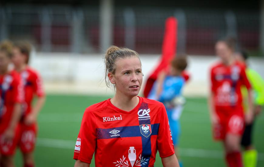 Émilie Giffaut et les Caennaises tenteront d'accéder à la finale régionale de la Coupe de France