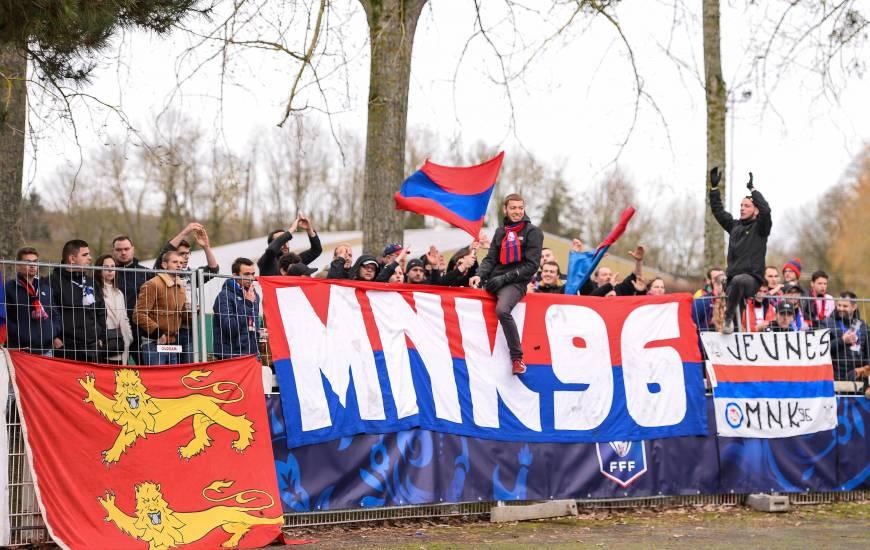 Les supporters du Stade Malherbe Caen auront l'occasion d'être en parcage visiteurs samedi lors de la rencontre à Rodez