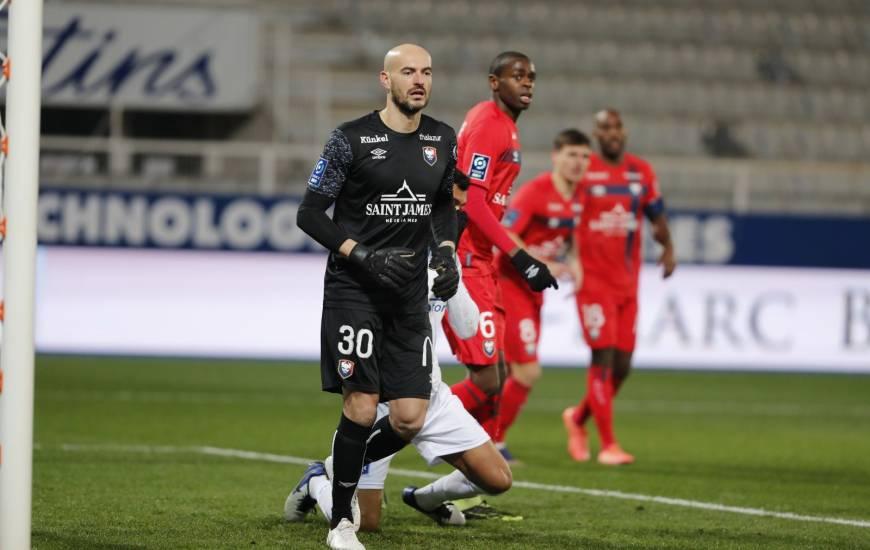 Rémy Riou a été désigné MVP d'une rencontre du Stade Malherbe pour la deuxième fois de la saison