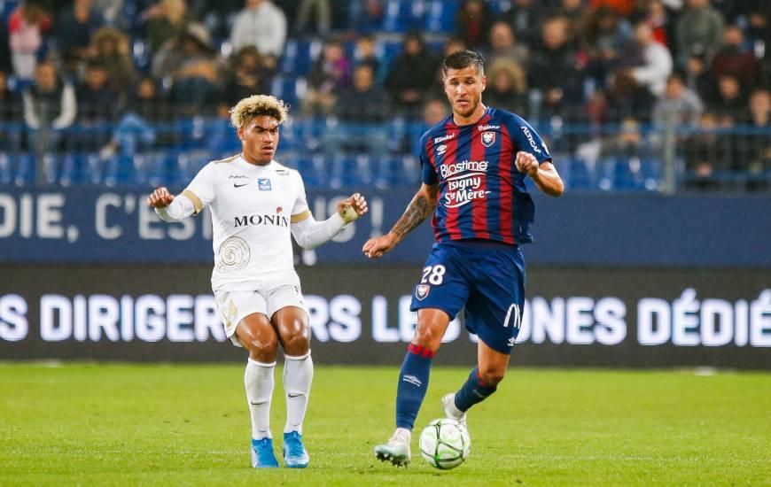 Anthony Weber et les Caennais avaient concédé le match nul face à Châteauroux la saison dernière