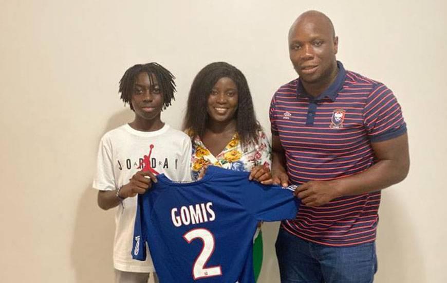 Djulys Gomis s'est engagé avec le Stade Malherbe Caen pour trois saisons et rejoindra le club dans un an