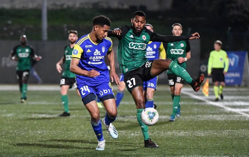 Younn Zahary a participé à l'intégralité des trois dernières rencontres de Ligue 2 BKT avec le Pau FC