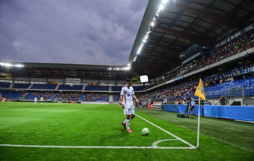 Jessy Deminguet les Caennais avaient débuté la saison 2019 / 2020 par un déplacement au stade Bonal