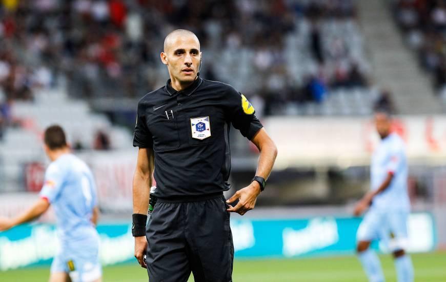 Mehdi Mokhtari avait arbitré le Stade Malherbe Caen lors des victoires face au PFC et aux Chamois Niortais la saison dernière