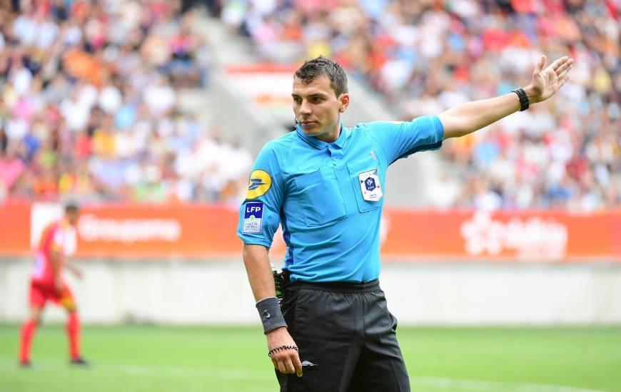 Arnaud Baert avait arbitré le Stade Malherbe Caen deux fois la saison dernière en Ligue 2 BKT