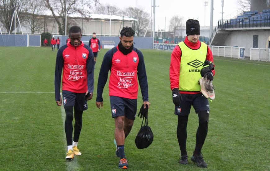 Les joueurs du Stade Malherbe débuteront leur parcours en Coupe de France sur la pelouse de Guingamp mercredi soir