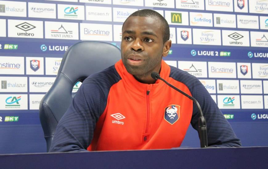 Prine Oniangué et Pascal Dupraz ont répondu aux questions de la presse locale avant la réception du Toulouse FC lundi soir
