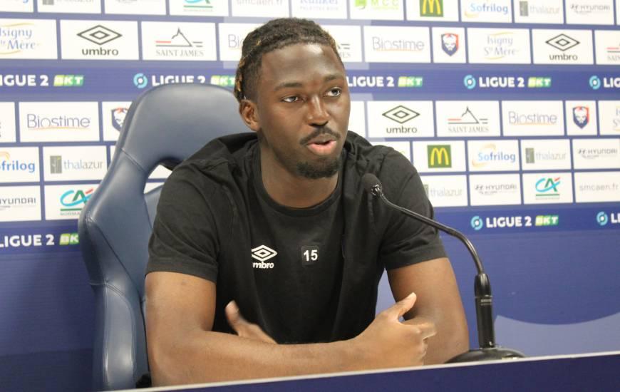 Pascal Dupraz et Aliou Traoré ont évoqué la réception du Paris FC devant la presse ce vendredi en début d'après-midi