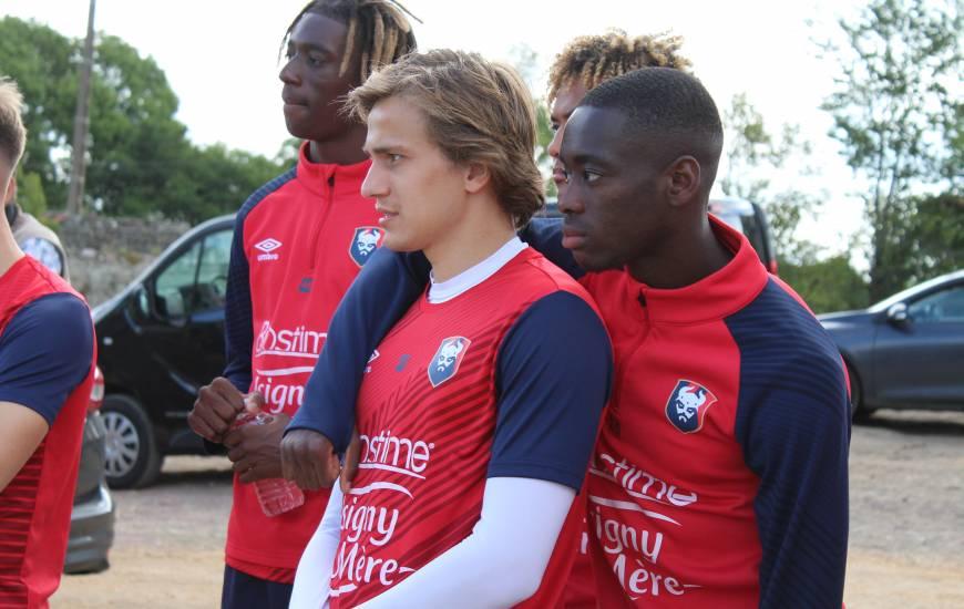 Les joueurs du Stade Malherbe Caen ont participé à une journée de cohésion dans une ferme et à Utah Beach