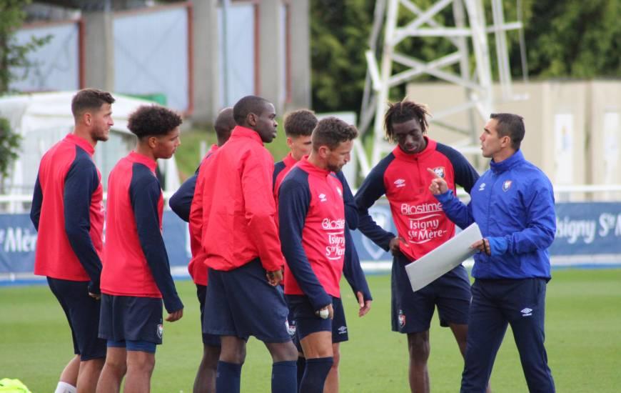 Les joueurs et le staff du Stade Malherbe Caen seront de retour à l'entraînement ce lundi après-midi à partir de 15h