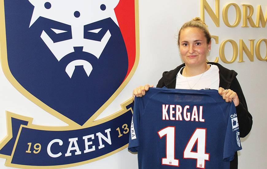 Après deux saisons au Havre AC en deuxième division, Léa Kergal rejoint le Stade Malherbe Caen pour la saison 2020 / 2021