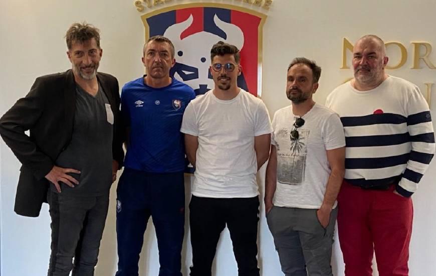 Mehdi Hocianat aux côté de Stéphane Pilard, Jean-Luc Pignol, Thierry Deslandes & Franc Dechaume