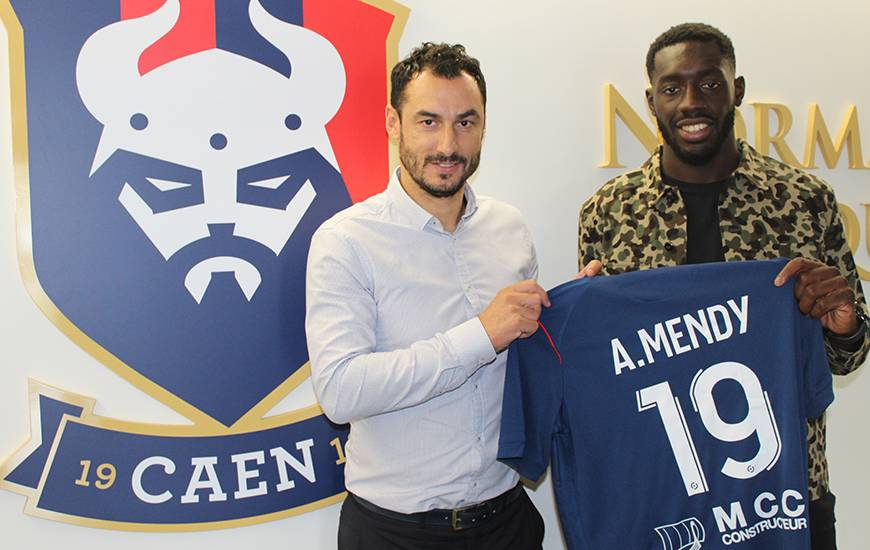 Alexandre Mendy va filer à Caen — Bordeaux