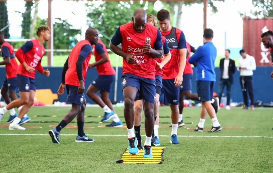 Après un week-end de repos, les joueurs du Stade Malherbe Caen vont pouvoir préparer le déplacement à Rodez