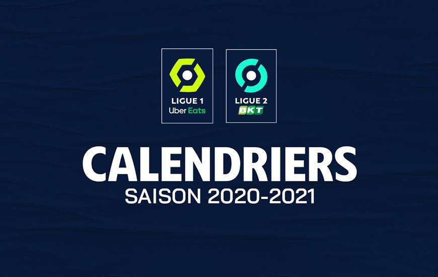 Le calendrier de la saison 2020 / 2021 dévoilé le 9 juillet