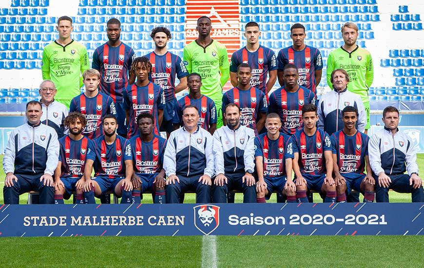 Le groupe pro 2 du Stade Malherbe Caen évolue cette saison dans le groupe A de national 2