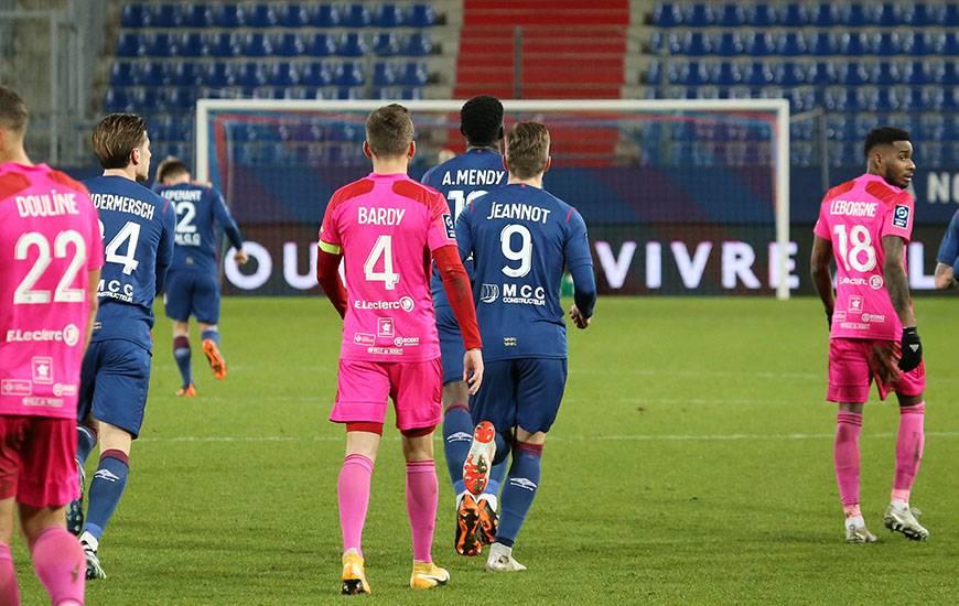 Après avoir réduit l'écart en première période, les Caennais n'ont pas réussi à revenir au score dans cette rencontre
