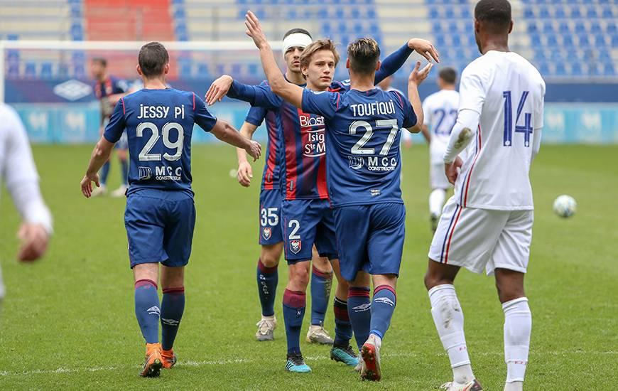 Azzeddine Toufiqui a permis au Stade Malherbe Caen de revenir au score en fin de rencontre face à l'Équipe de France U18