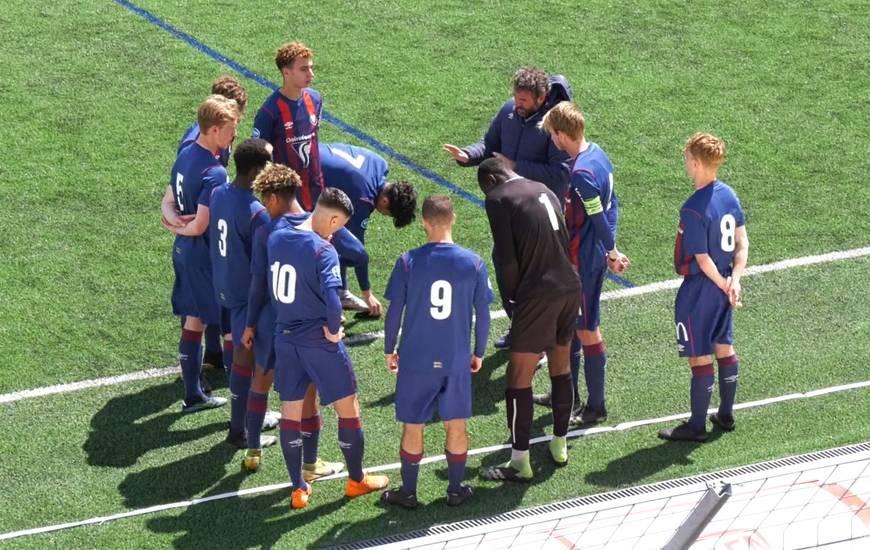 Les U19 du SM Caen victorieux 3-2 contre Lille le week-end dernier à Venoix